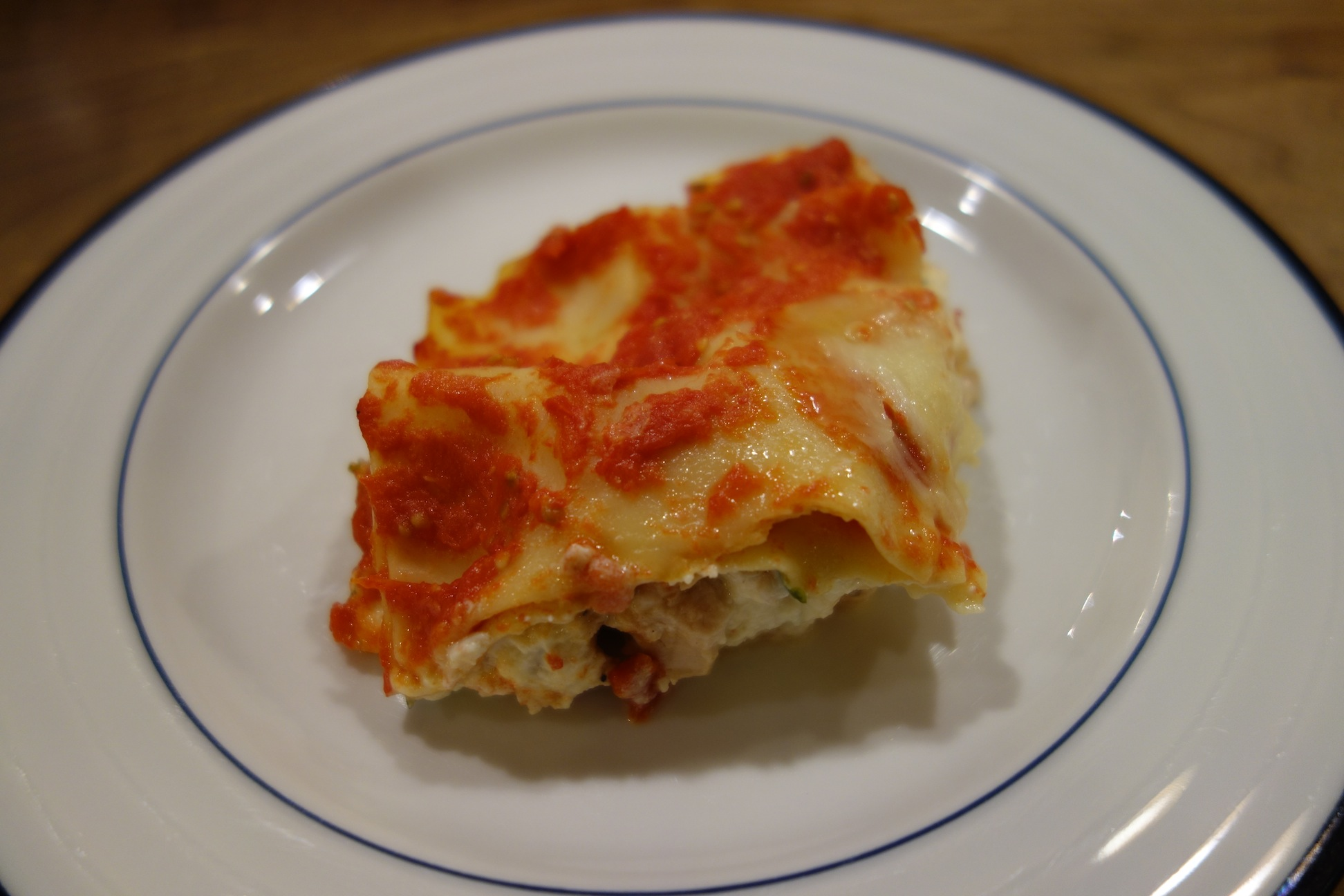 Leftover Chicken Lasagna