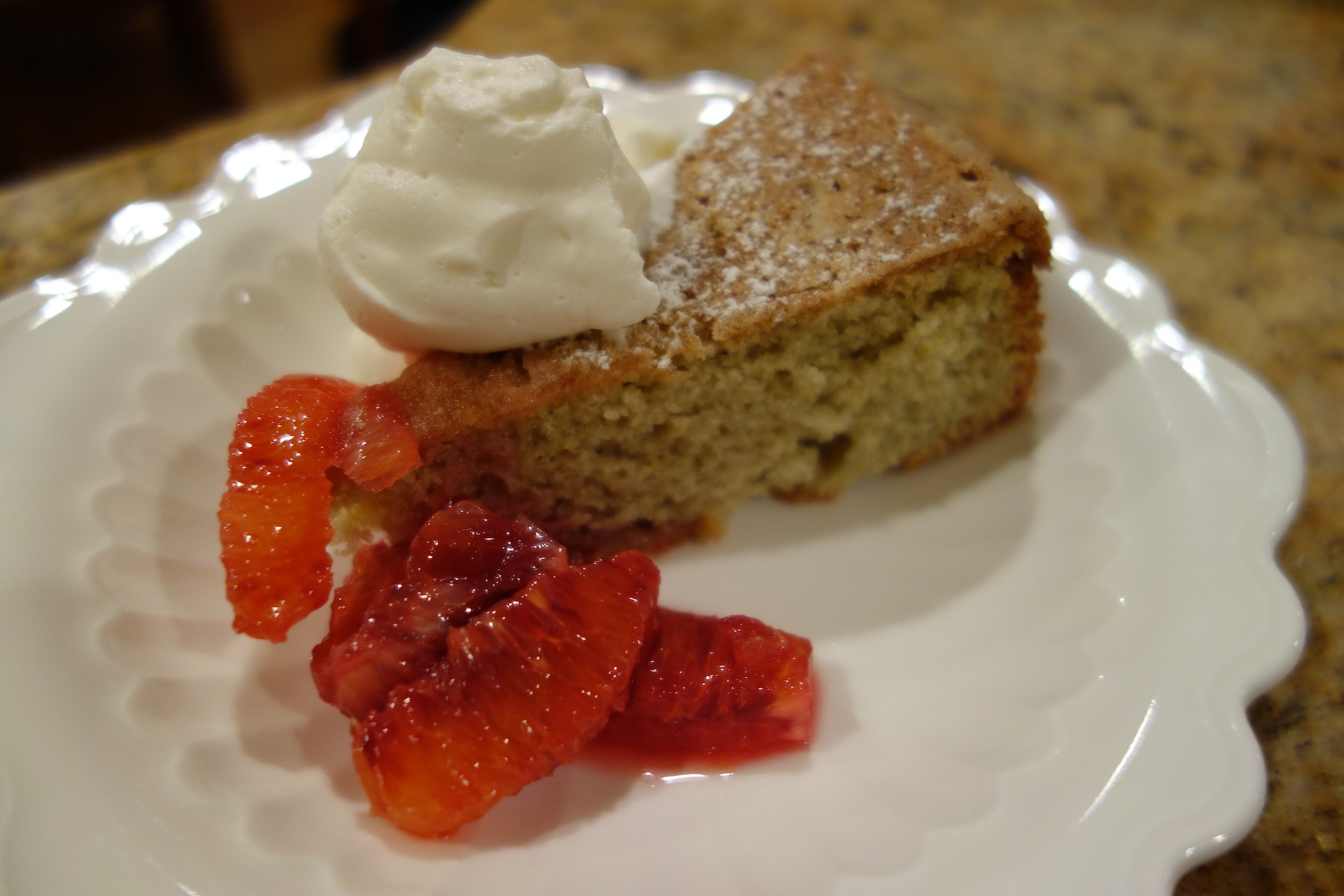 Sharing Plate » Blood Orange Olive Oil Cake with Cardamom