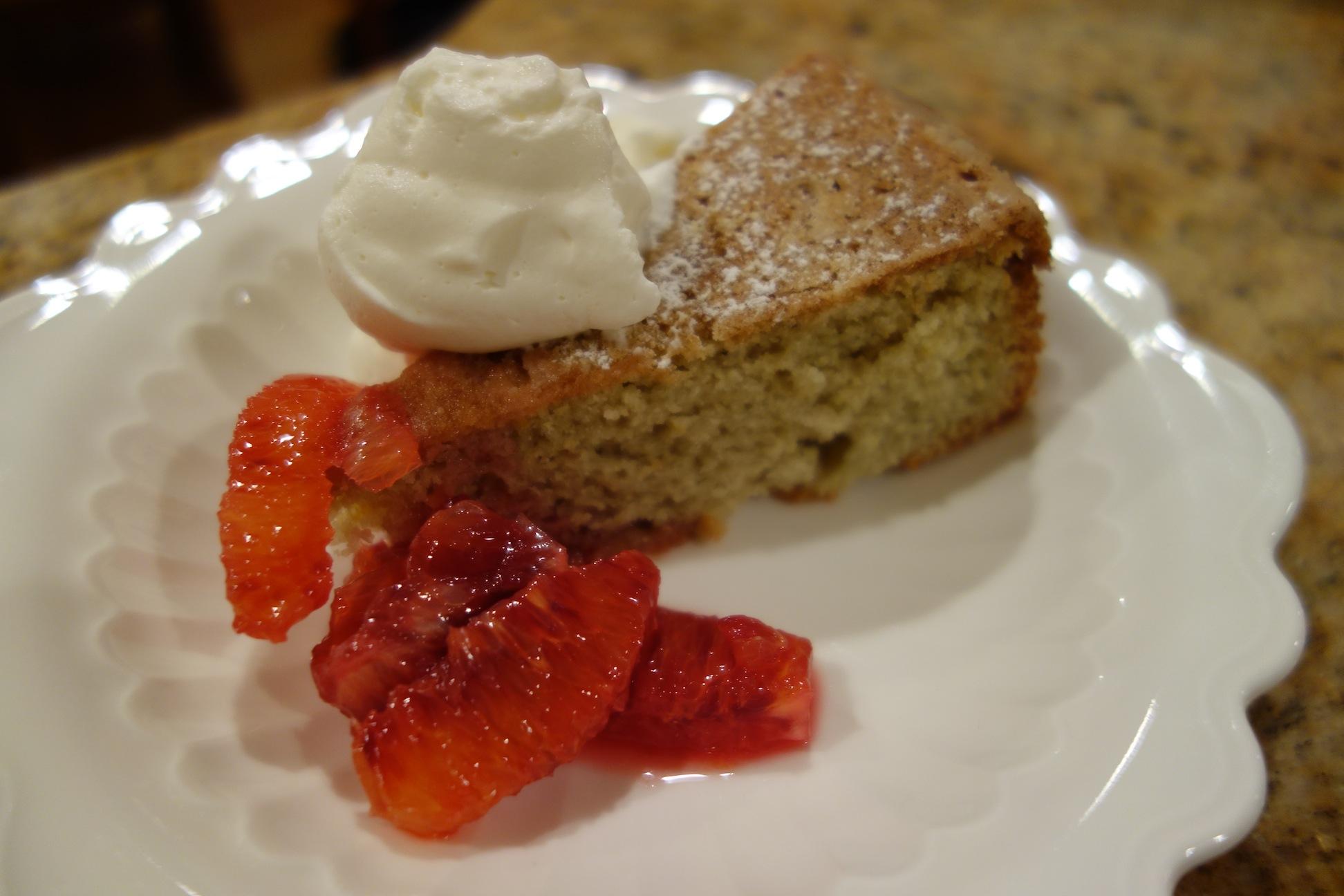 Blood Orange Olive Oil Cake Recipe — Dishmaps