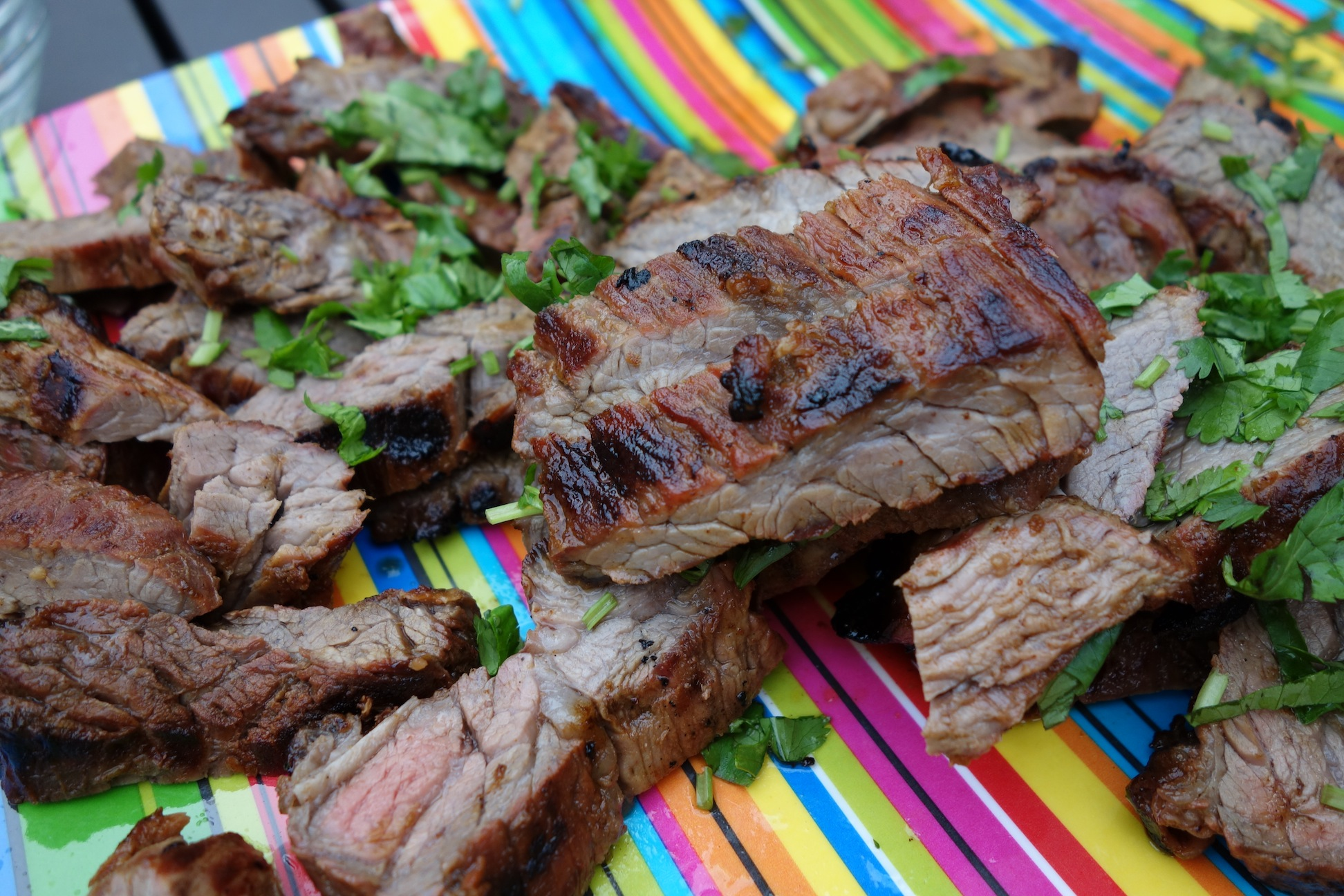 Lime Ancho Grilled Skirt Steak