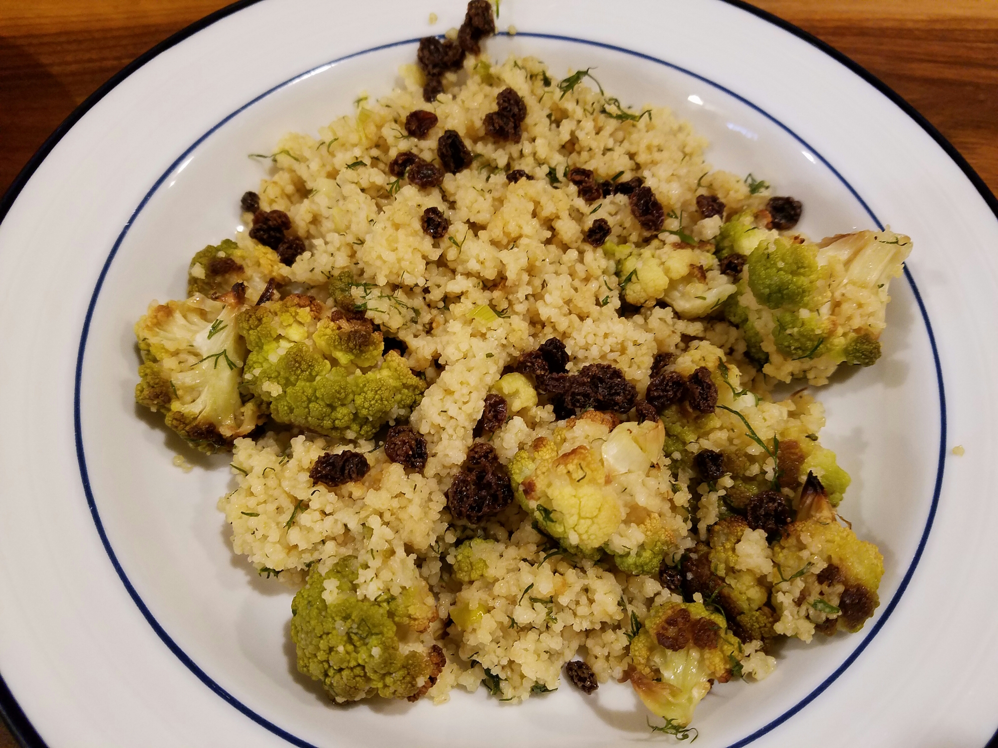 Couscous with Roasted Brocoflower